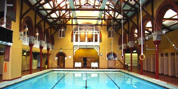 The Drumsheugh Baths Club in Edinburgh, Scotland